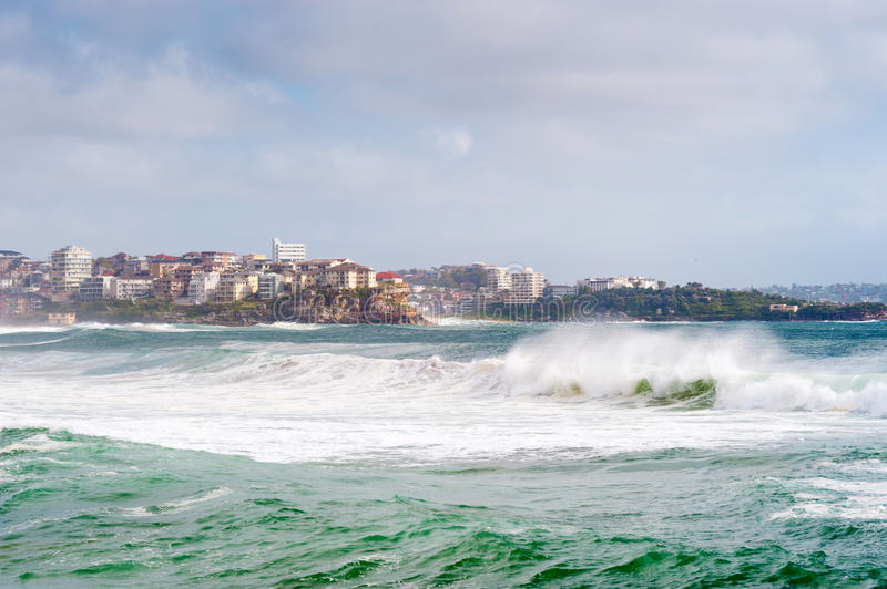 Manly Beach, Australia. This image shows the suburb of Manly, near Sydney, Australia stock images