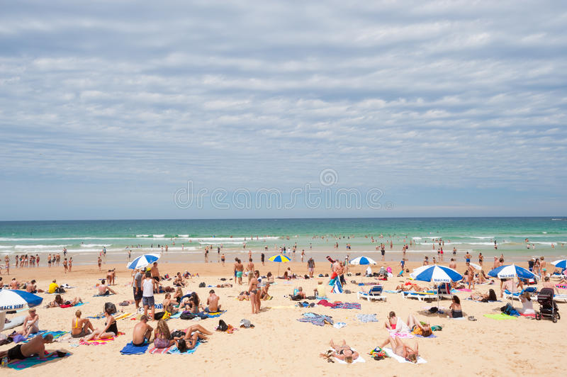 Download Manly Beach, Australia editorial stock photo. Image of coast - 28110838
