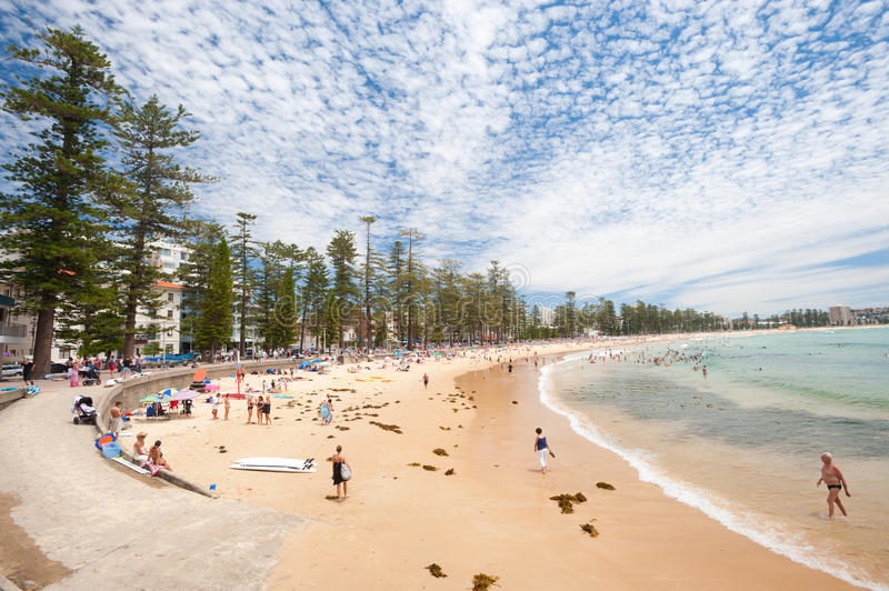 Download Manly Beach, Australia editorial photography. Image of coastline - 28313972
