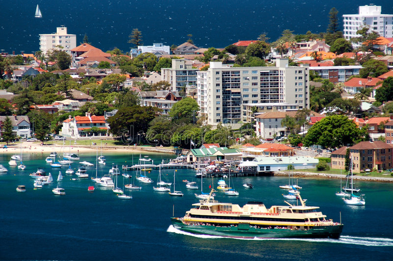 Manly Ferry royalty free stock images