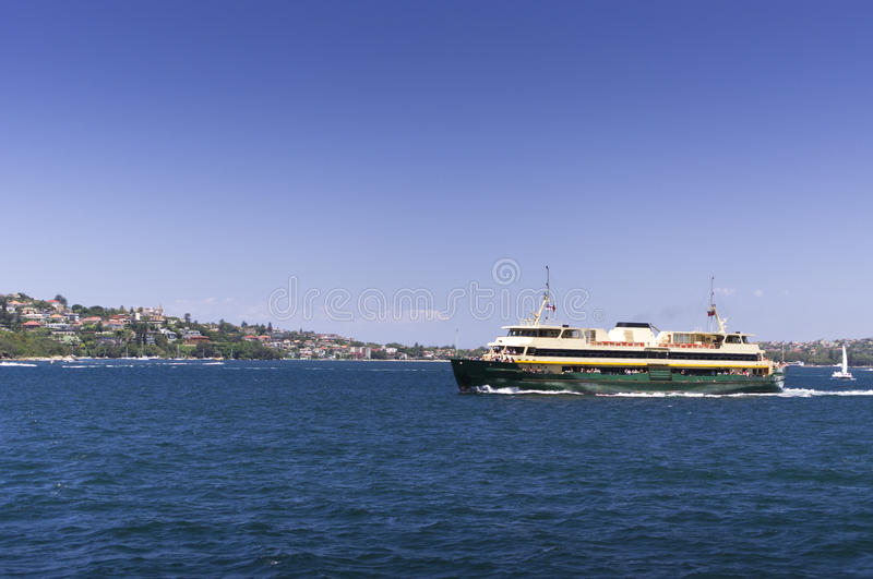 Download Manly Ferry On A Bright Sunny Day Stock Image - Image: 31956663