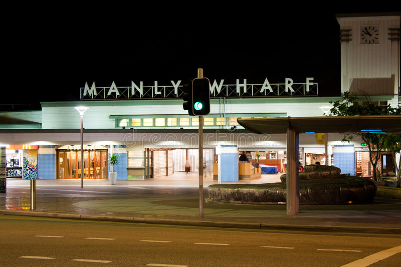 Manly Wharf, Australia Editorial Image