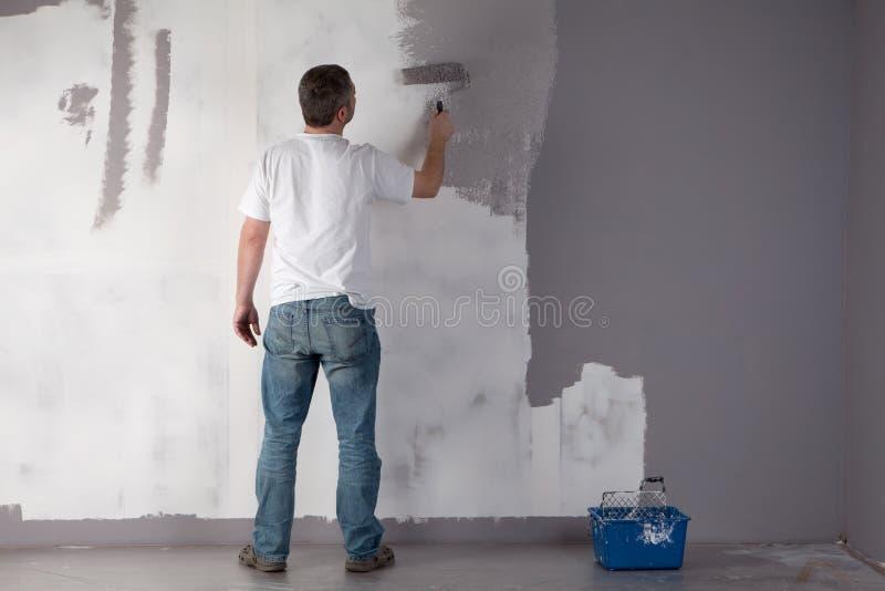 manmålningsvägg arkivfoton