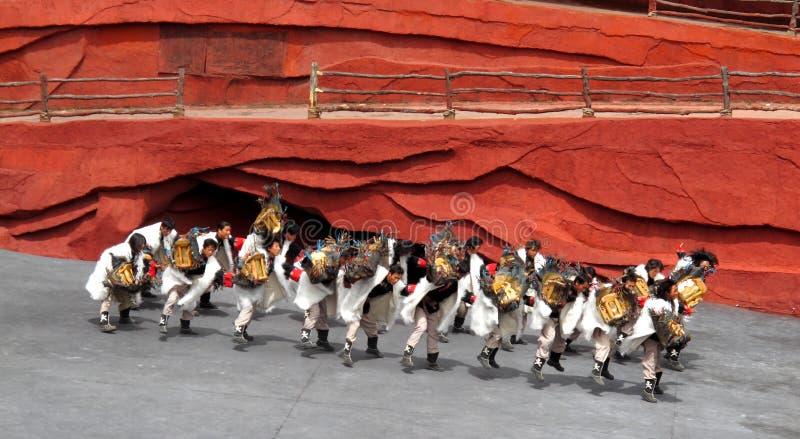 manminoritet yunnan royaltyfria foton