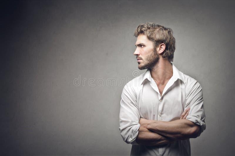 Mann lizenzfreie stockfotos