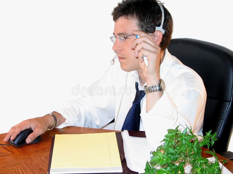 Mann bei der Arbeit stockfotos