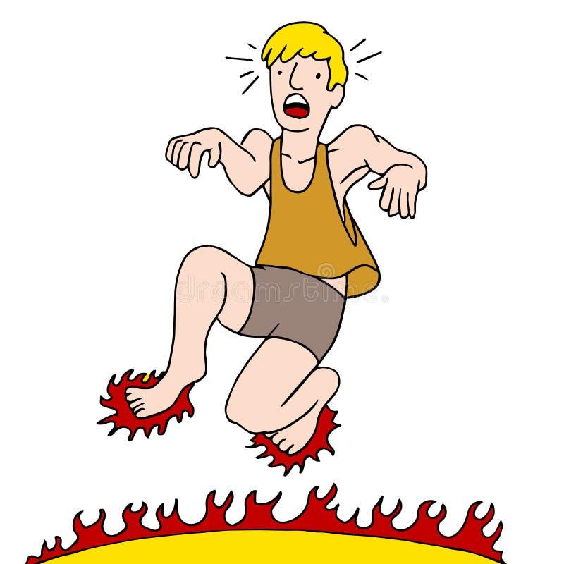 Heiße Cartoon Füße