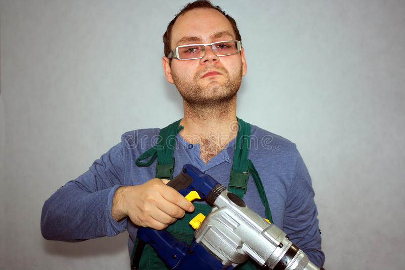 Mann der Arbeitskraft lizenzfreie stockfotografie