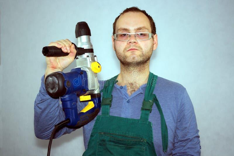 Mann der Arbeitskraft lizenzfreie stockbilder