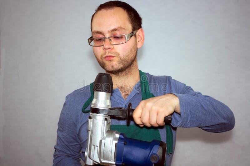 Mann der Arbeitskraft stockbild