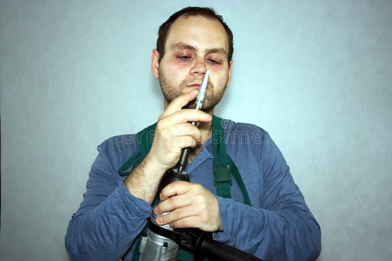 Mann der Arbeitskraft stockfotos