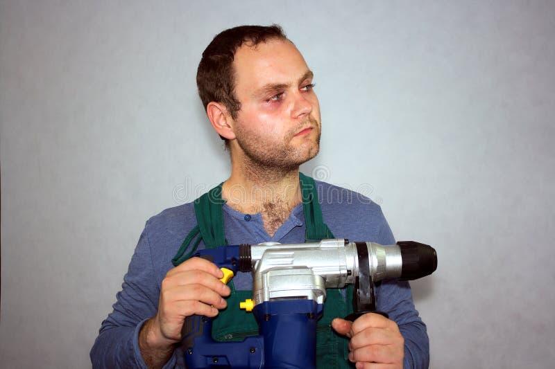 Mann der Arbeitskraft lizenzfreies stockbild