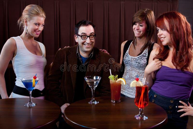 Mann der Damen lizenzfreie stockfotos