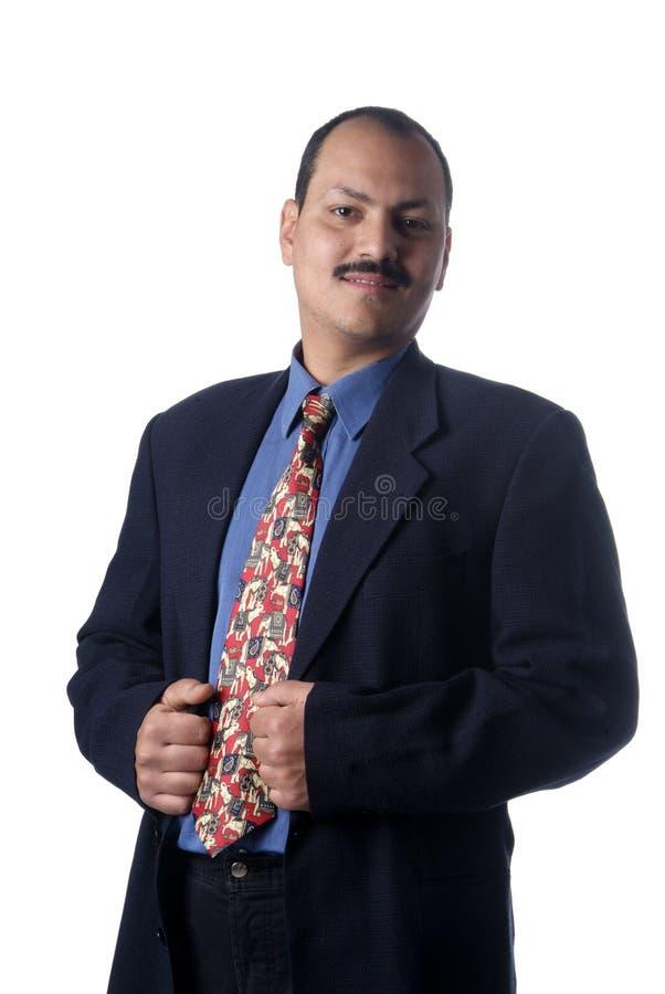 Mann in der Klage lizenzfreies stockfoto