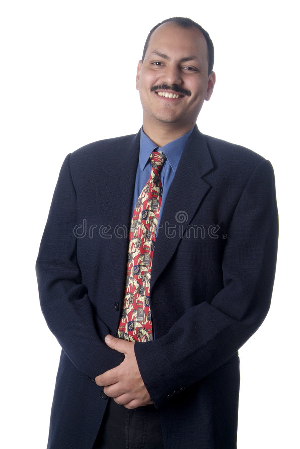 Mann in der Klage stockfoto