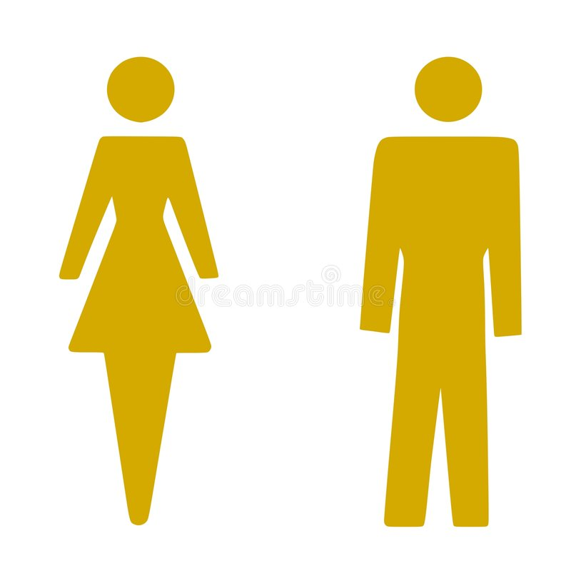 Mann-Frau vektor abbildung