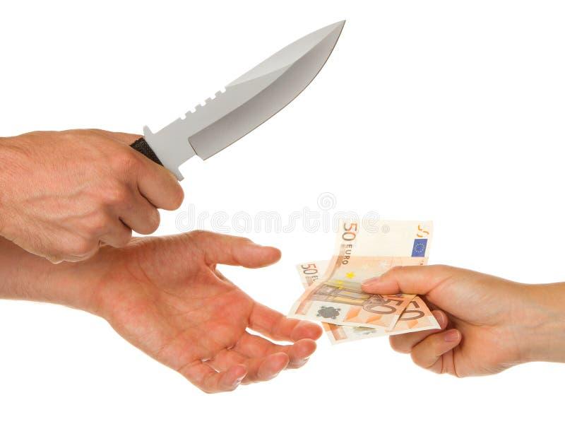 Download Mann Mit Dem Messer, Das Eine Frau Bedroht Stockfoto - Bild von angriff, schlacht: 26359752