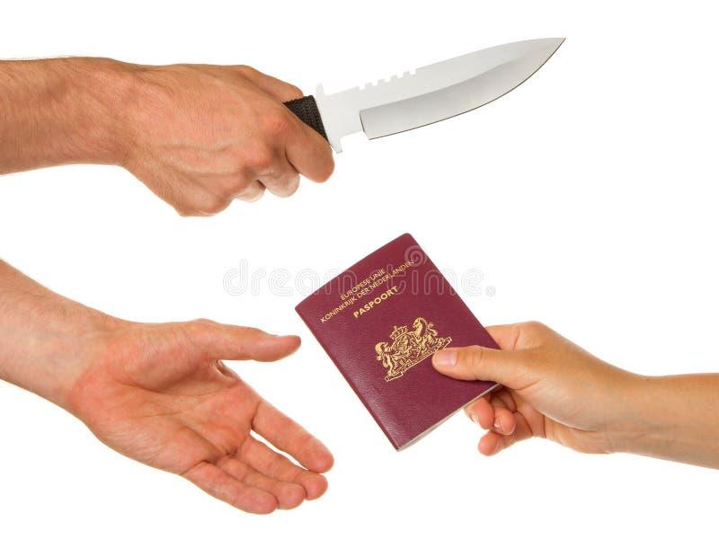 Download Mann Mit Dem Messer, Das Eine Frau Bedroht Stockfoto - Bild von palme, ausrüstung: 26359770