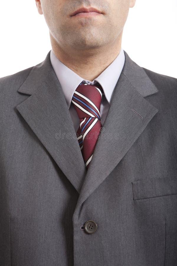 Mann mit einer Gleichheit stockfoto