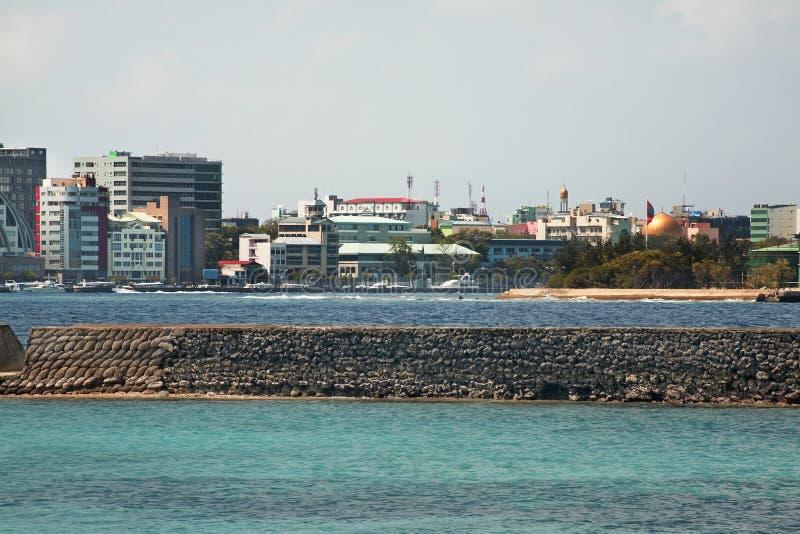 mann Republik der Malediven lizenzfreie stockfotos