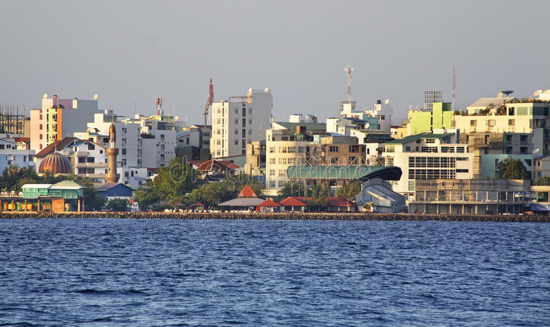 mann Republik der Malediven stockfotos