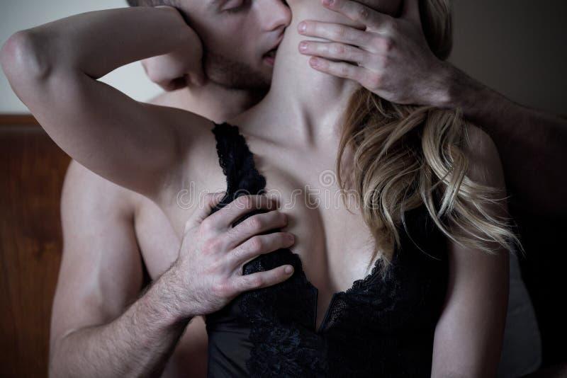 Mann Liebe Frau Brust