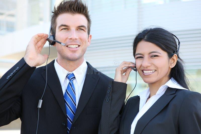 Mann und Frau Busienss Team stockfotografie