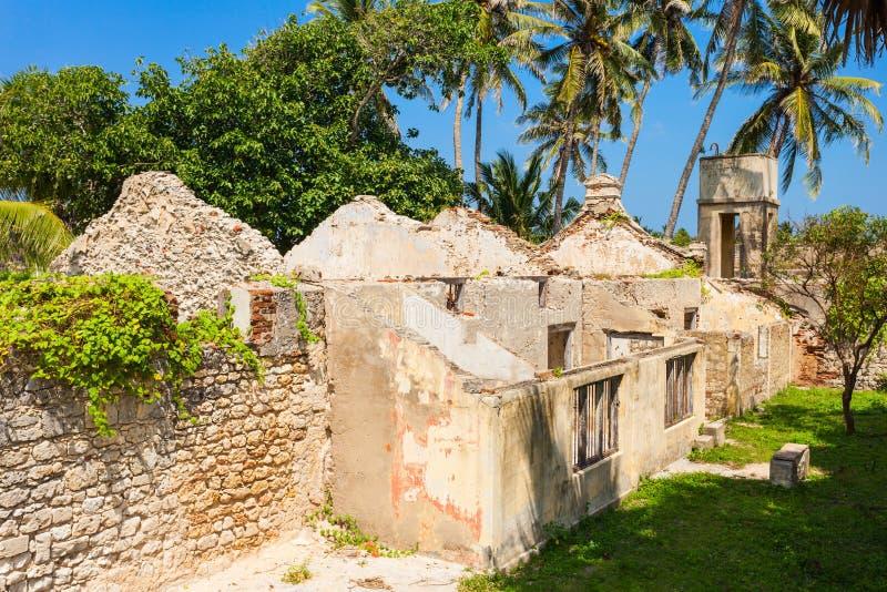 Mannar堡垒,斯里兰卡 免版税库存图片