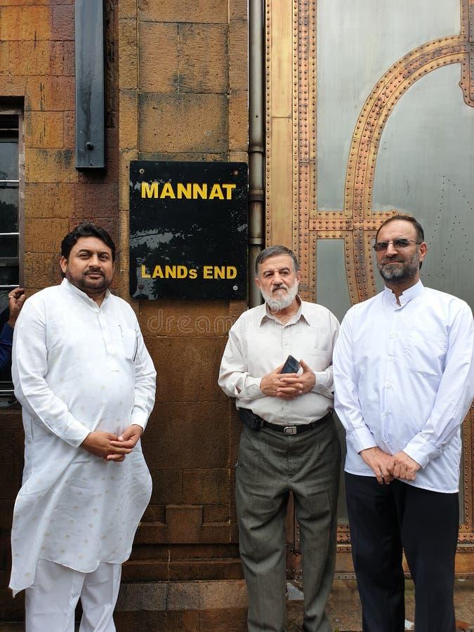 Mannat da casa de Shahrukh Khan fotos de stock