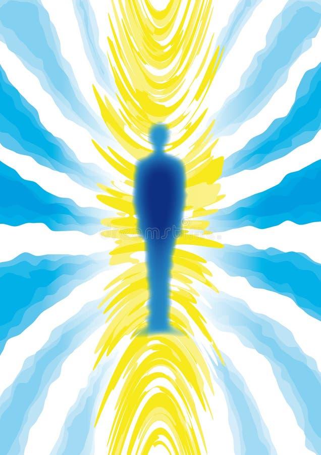 mannegro spiritual stock illustrationer