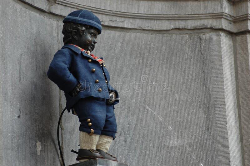 Manneken Pis à Bruxelles image libre de droits