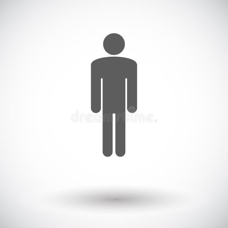 Mannelijk geslachtsteken stock illustratie