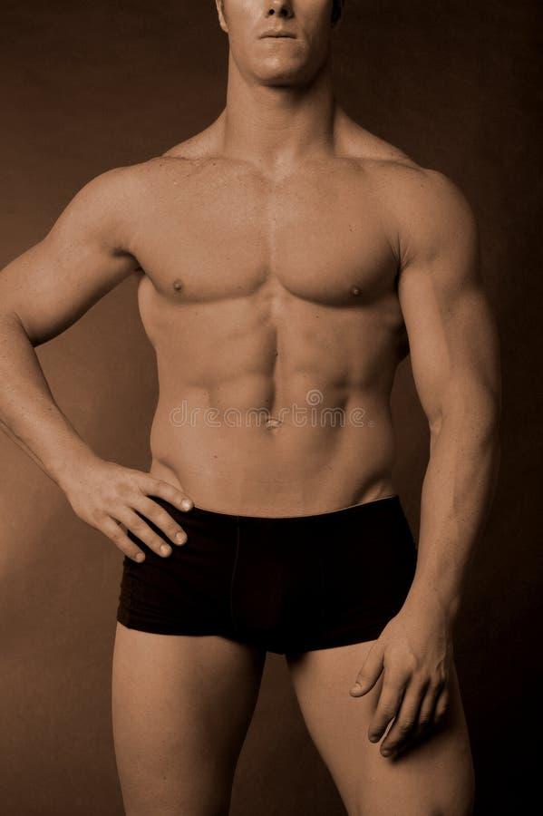 Mannelijk lichaam royalty-vrije stock fotografie