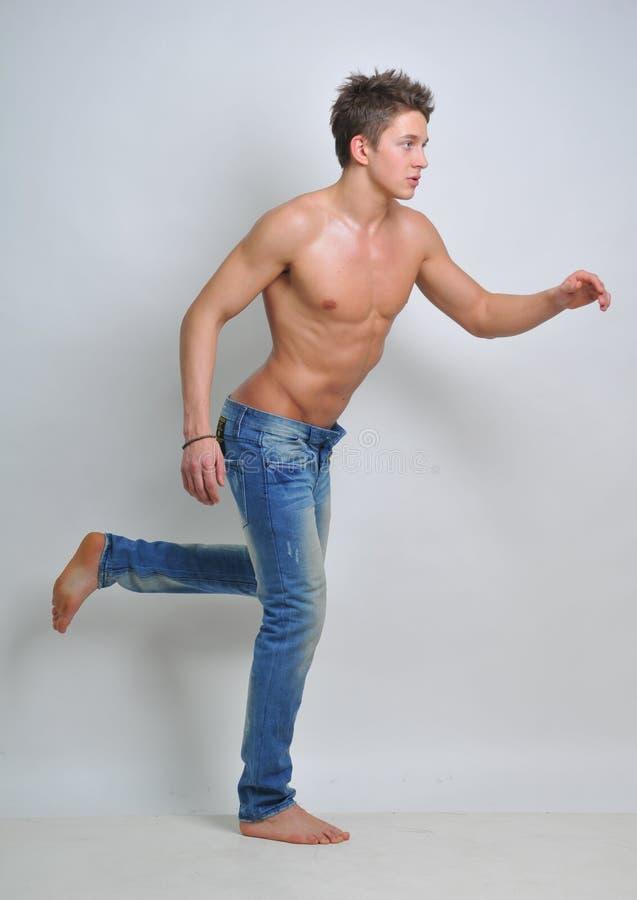 Mannelijk model stock foto's