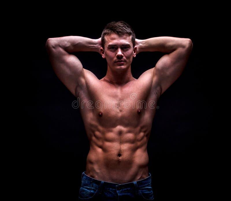 Mannelijk model royalty-vrije stock afbeelding
