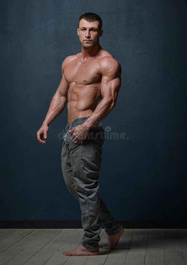 Mannelijk Model stock fotografie