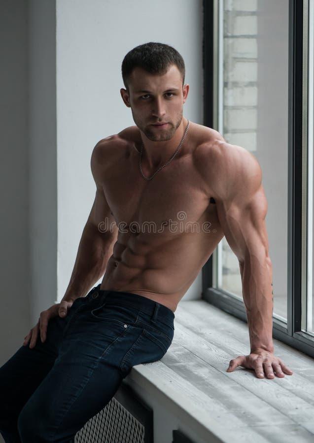 Mannelijk Model royalty-vrije stock fotografie