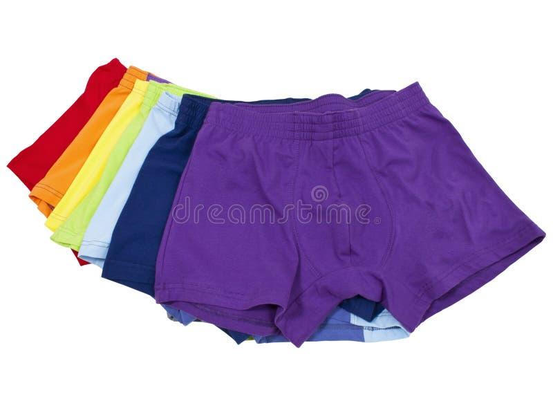 Mannelijk ondergoed stock afbeeldingen