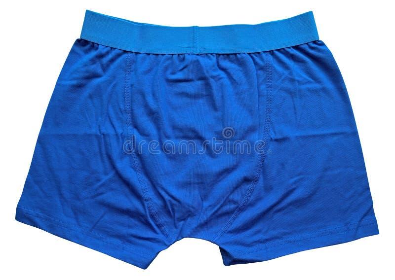 Mannelijk ondergoed - Blauw royalty-vrije stock fotografie