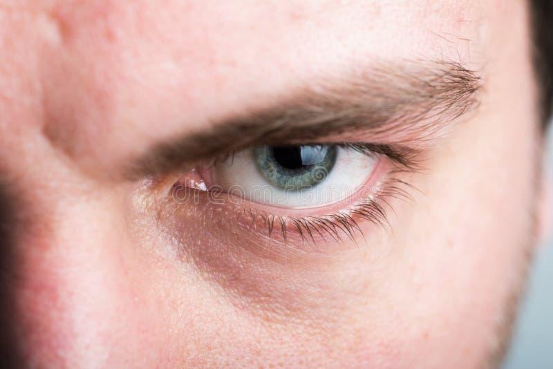 Mannelijk oog royalty-vrije stock foto