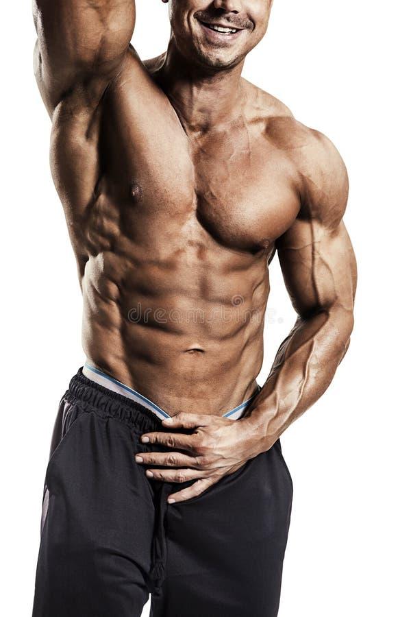 Mannelijke bodybuilder royalty-vrije stock fotografie