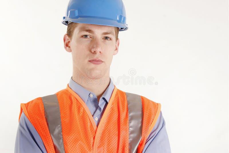 Mannelijke bouwvakker stock fotografie