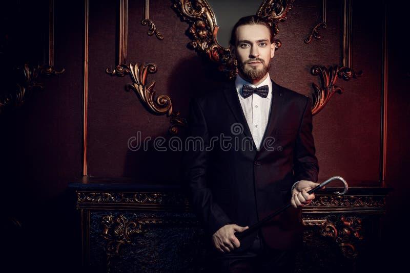 Mannelijke elegante manier royalty-vrije stock afbeeldingen
