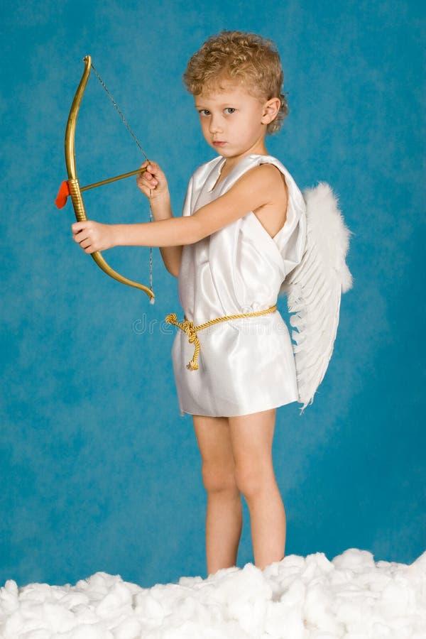 Mannelijke engel royalty-vrije stock afbeelding