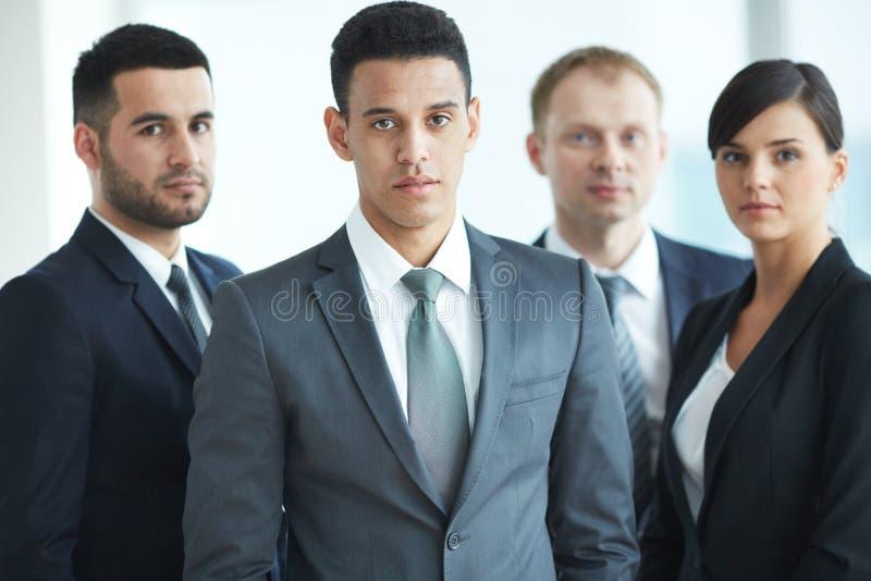 Mannelijke leider stock afbeeldingen