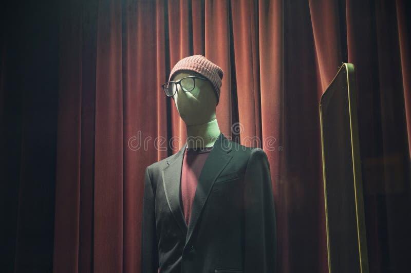 Mannelijke mannequin met een hoed royalty-vrije stock fotografie
