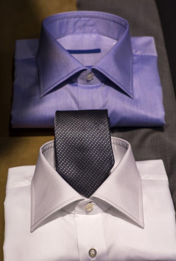 Mannelijke overhemden stock afbeelding