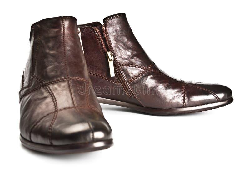 Mannelijke schoenen royalty-vrije stock foto's