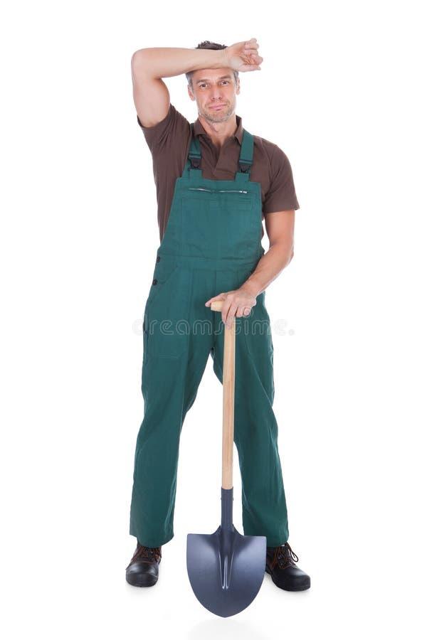 Mannelijke Tuinman stock foto