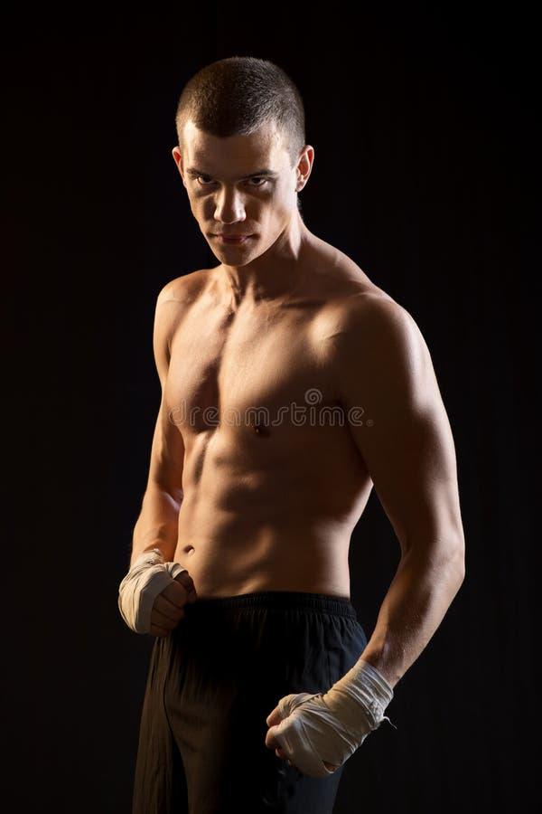Mannelijke Vechter stock foto's